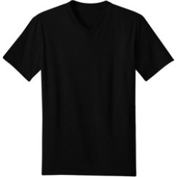 Black Tanu Harlem V Neck 100% Cotton T-Shirt S M L XL 2XL 3XL 4XL 5XL