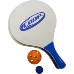 Paddle and Orange Pickle Ball Classic Outdoor Yard Game