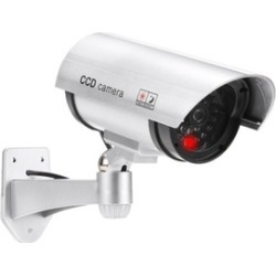 Bullet IR Dummy Security CCTV Surveillance Camera found on Bargain Bro India from groupon for $6.99