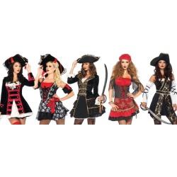 Leg Avenue Assorted Short Pirate Costumes