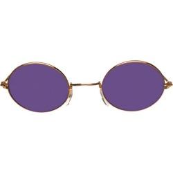 Glasses John Gold Purple