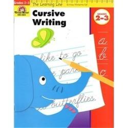 EVAN-MOOR EMC6924 Paper Cursive Writing - 32 Full Color Pages