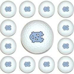 Team Golf 22503 North Carolina Tar Heels Dozen Ball