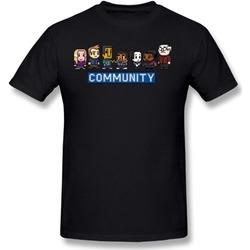 DSGAW T-line Community 8 Bit Black Tee