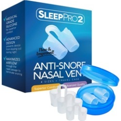 Premium Anti Snore Nose Vents Sleep Aid Device - Stop Snoring