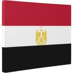 Egypt Flag CANVAS Wall Art Home Décor