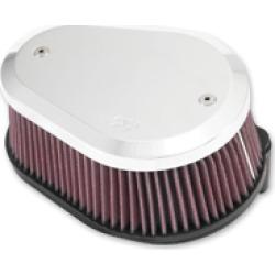 K & N Street Metal Air Cleaner Intake System Flare Large Capacity