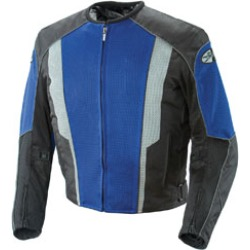 Joe Rocket Men's Phoenix 5.0 Blue/Black Mesh Jacket found on Bargain Bro Philippines from J&P Cycles for $152.99