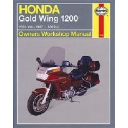 Haynes Honda Goldwing Shop Manual found on Bargain Bro India from J&P Cycles for $36.99