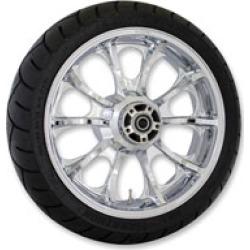 "Coastal Moto Largo 18"" x 5.5"" Rear Wheel Package Chrome"