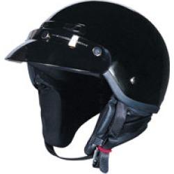 Z1R Drifter Gloss Black Half Helmet