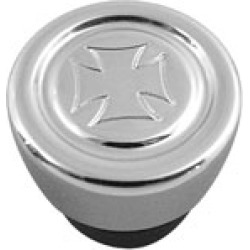 V-Twin Manufacturing Maltese Cross Oil Tank Plug