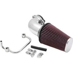 K & N 90° FIPK Performance Air Cleaner Intake Kit Polished