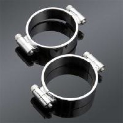 J & P Cycles Heavy Duty Intake Clamps
