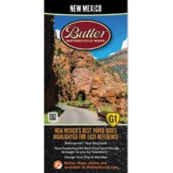 Butler Maps G1 New Mexico Motorcycle Map