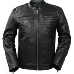 First Manufacturing Co. Men's Nemesis Leather Jacket found on Bargain Bro Philippines from J&P Cycles for $299.99