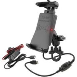 Ram Mount Quick-Grip Wireless Charging U-Bolt Mount