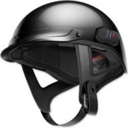 Sena Technologies Cavalry Bluetooth Matte Black Half Helmet