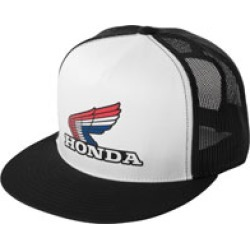 Factory Effex Men's Honda Vintage Black/White Snapback Hat found on Bargain Bro Philippines from J&P Cycles for $24.95