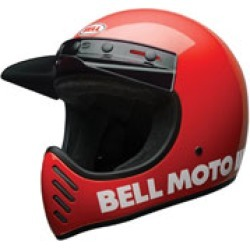 Bell Moto-3 Classic Red Full Face Helmet found on Bargain Bro India from J&P Cycles for $289.95
