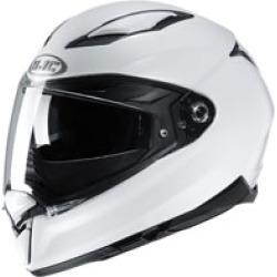 HJC F70 White Full Face Helmet