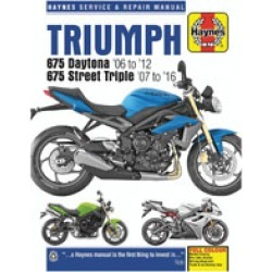 Haynes Triumph Repair Manual found on Bargain Bro India from J&P Cycles for $45.99