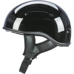 FLY Racing Street .357 Gloss Black Half Helmet
