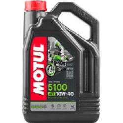 MOTUL 5100 Synthetic Blend Motor Oil