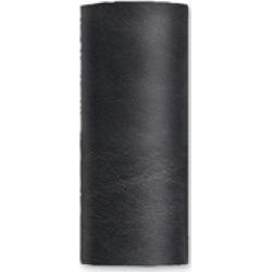 Hair Glove Solid Black Leather Hair Wrap