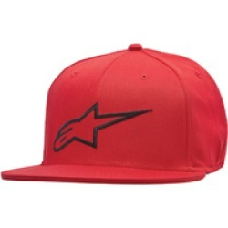 Alpinestars Men's Ageless Red/Black Flat Bill Hat found on Bargain Bro Philippines from J&P Cycles for $26.95