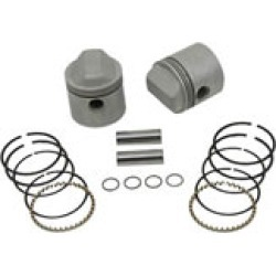 "V-Twin Manufacturing Piston Kit, 3.187"" Bore, 9:1"