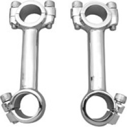 V-Twin Manufacturing Deluxe Dawg Bones Risers