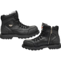 Milwaukee Motorcycle Clothing Co. Men's Explorer Black Leather Boots