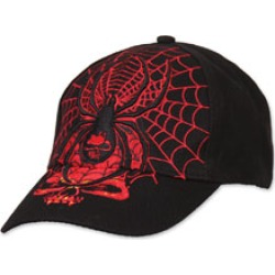 Black Widow Embroidered Ball Cap found on Bargain Bro Philippines from J&P Cycles for $17.99