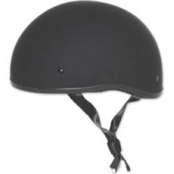 Zox Mikro Old School Matte Black Half Helmet