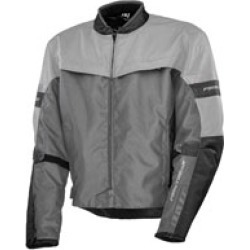 Firstgear Men's Rush Silver Jacket found on Bargain Bro Philippines from J&P Cycles for $229.95