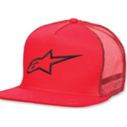 Alpinestars Corp Trucker Red Hat found on Bargain Bro Philippines from J&P Cycles for $24.00