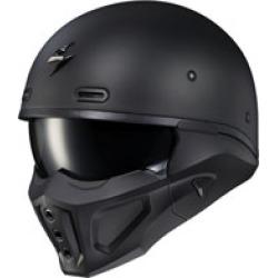 Scorpion EXO Covert X Matte Black Half Helmet
