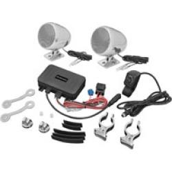 Show Chrome Accessories Bluetooth Stereo Sound System Chrome
