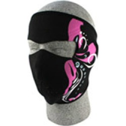 ZAN headgear Neoprene Mardi Gras Face Mask