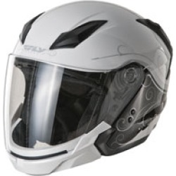 FLY Racing Street Tourist Cirrus Silver Modular Helmet found on Bargain Bro India from J&P Cycles for $119.95
