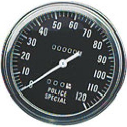 J & P Cycles FL-Style Police Face Speedometer found on Bargain Bro India from J&P Cycles for $66.99