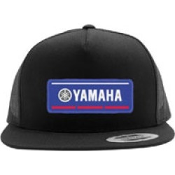Factory Effex Men's Yamaha Vector Black Snapback Hat found on Bargain Bro Philippines from J&P Cycles for $24.95