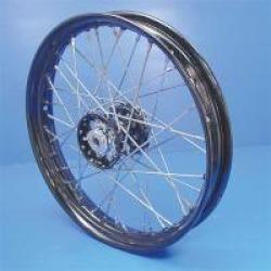 "V-Twin Manufacturing Replica Spoke Star Hub Front/Rear Wheel, 19"" x 2.15"""