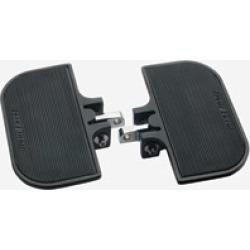 J & P Cycles Universal Black Mini-Floorboards