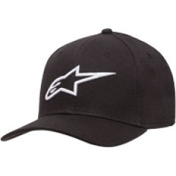 Alpinestars Men's Ageless Black/White Curved Bill Hat found on Bargain Bro Philippines from J&P Cycles for $25.95