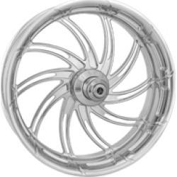 "Performance Machine Supra Chrome Front Wheel, 18"" x 3.5"" ABS"