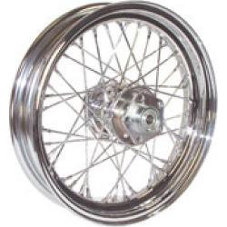 """V-Factor Complete 40 Spoke Chrome Rear Wheel, 16 x 3"""""""