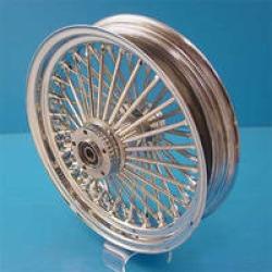 "Ride Wright Fat Spoke Rear Wheel, 16"" x 3.5"" Non-ABS"