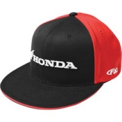 Factory Effex Men's Honda Horizontal Red/Black Flat Bill hat found on Bargain Bro Philippines from J&P Cycles for $24.95